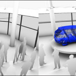 Concepts for interactive multimedia instalation-car